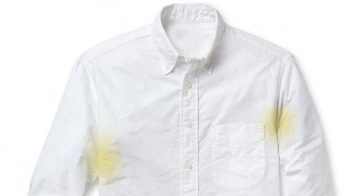 Cómo quitar manchas de sudor y desodorante en camisas