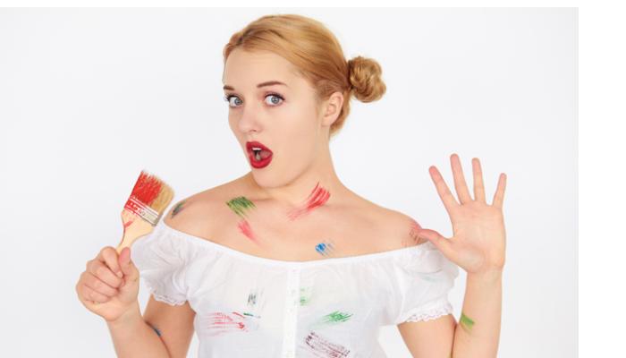 cómo quitar pintura plástica de la ropa