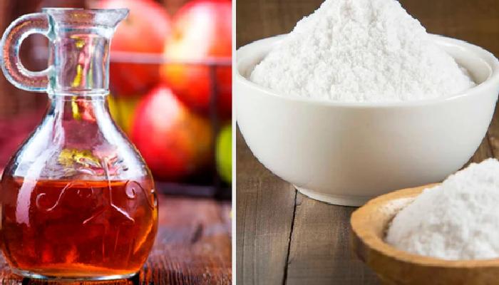 Bicarbonato de sodio y vinagre para quitar el moho de la ropa: