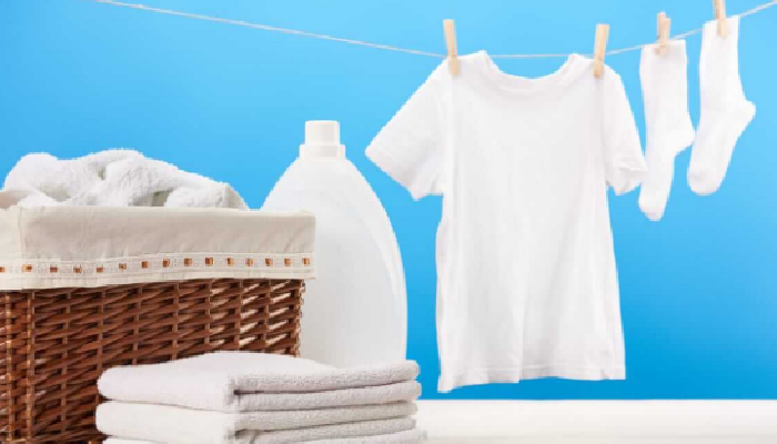 Lejía para quitar el moho de la ropa blanca: