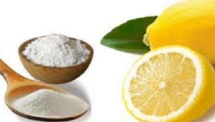Bicarbonato y Limón para quitar los granitos de la espalda.