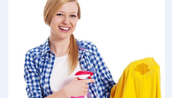 Cómo quitar manchas amarillas dela ropa de color