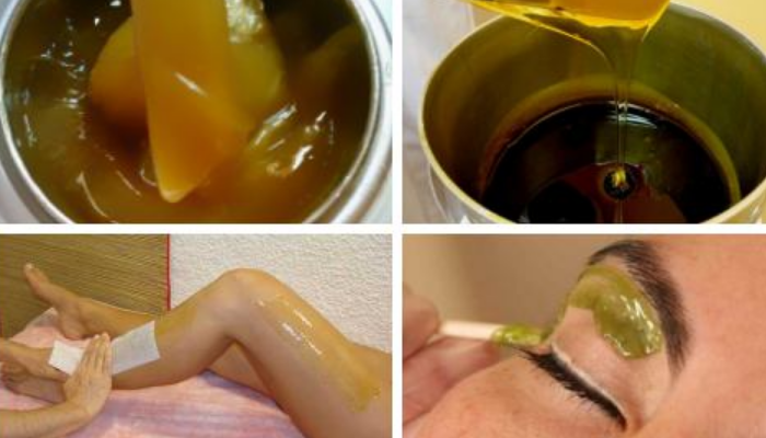 Como usar la cera tradicional de depilar y no manchar la ropa