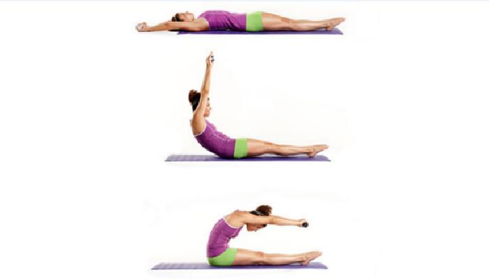 Realizar ejercicios para quitar el lumbago rápido