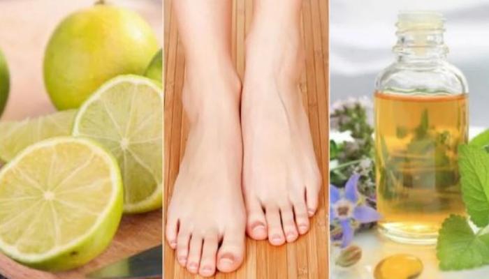 5 Aceites esenciales para quitar los hongos de las uñas de los pies rápido.