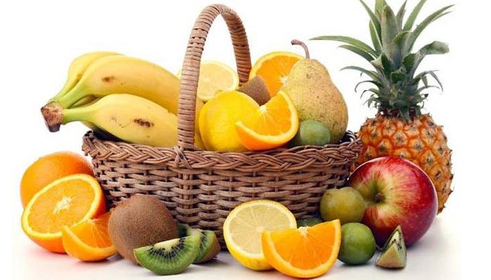 Fruta, para quitar la grasa de las piernas