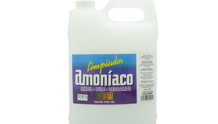 Lavadora, Detergente y Amoniaco