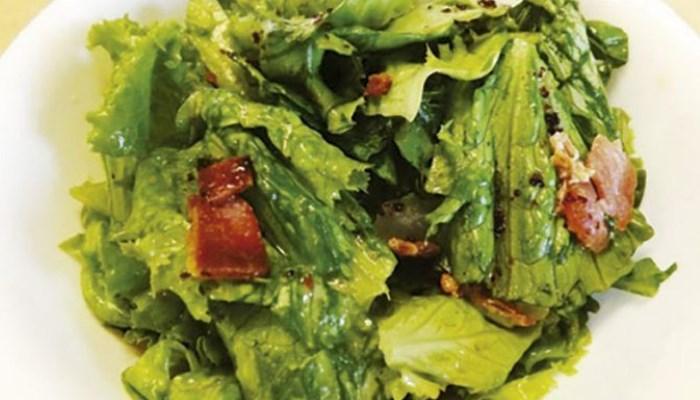 Cómo quitar la papada con alimentos verdes