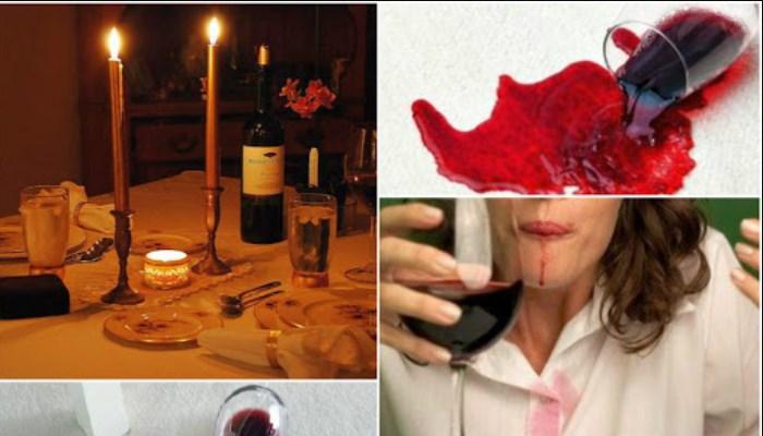 Cómo quitar las manchas de vino