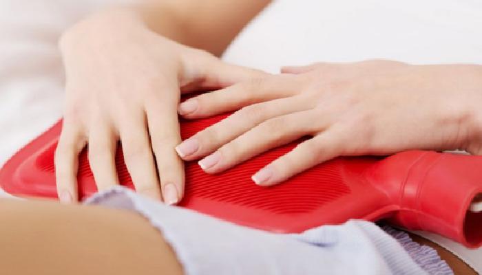 El calor te ayudará a evitar el dolor de barriga