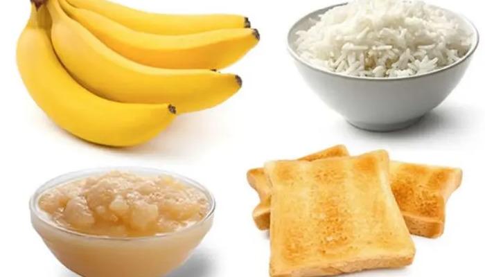 Dieta Brat funcional para quitar el dolor de barriga