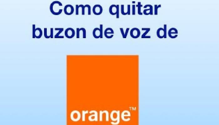 como quitar el contestador de orange