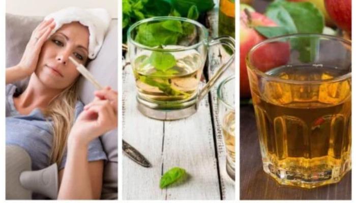 Mejorate quitando la fiebre con remedios caseros