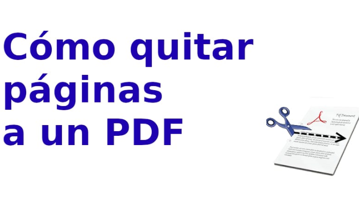 Quita las paginas de un PDF de manera rápida