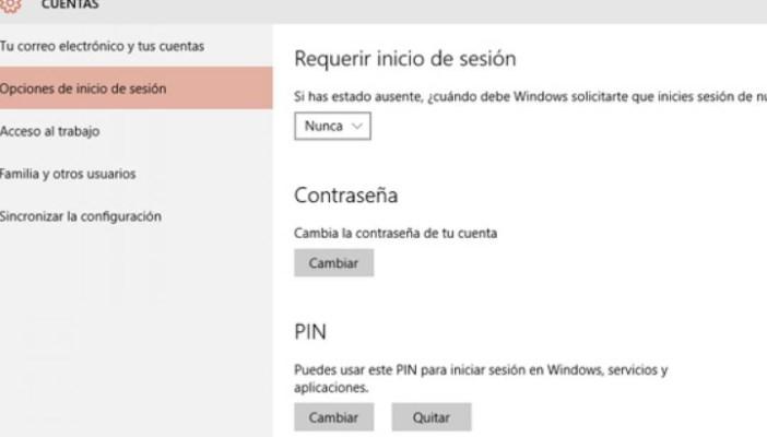 ¿cómo quitar la contraseña de Windows 10?