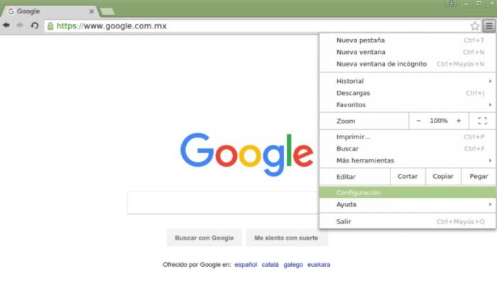 Cómo eliminar los cookies de Chrome