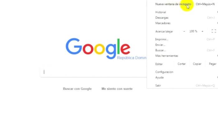 cómo eliminar el historial de Google