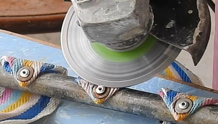Cómo quitar los remaches con una amoladora con disco